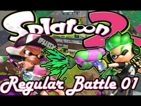 Splatoon 2: Regular Battle 01 (Live Facecam)