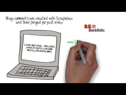 Blog Comment Backlinks - Scrapebox AutoApprove Links - Tier 2 & 3 SEO