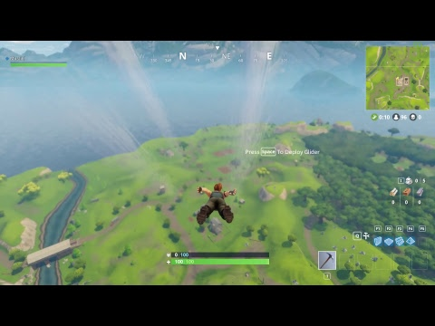 First Time on FORTNITE: BATTLE ROYAL