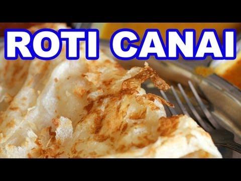 Roti Canai and Teh Tarik - Malaysian Breakfast