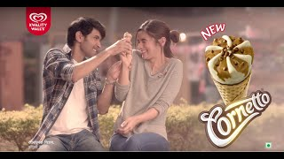 Cornetto – Alia starts her Love Story