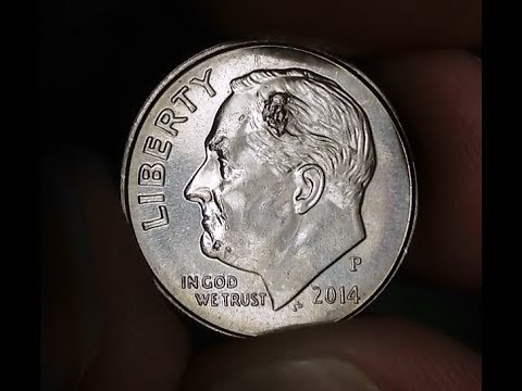 Coin Roll Hunting Customer Rolls Dimes......Error Coin Found...Die Chips