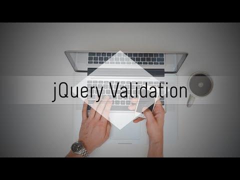 jQuery Validation Plugin: Simple Validation (1/4)