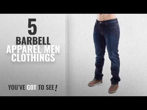 Top 10 Barbell Apparel Men Clothings [ Winter 2018 ]: Barbell Apparel Men's Straight Athletic Fit