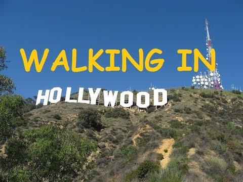 Walking Tour; Hollywood--Las Palmas to Santa Monica Blvd