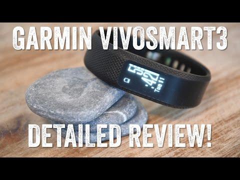 GARMIN VIVOSMART 3 Review! Hands-on details!