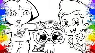 Colorindo Desenho Da Barbie Desenho Animado Infantil Para