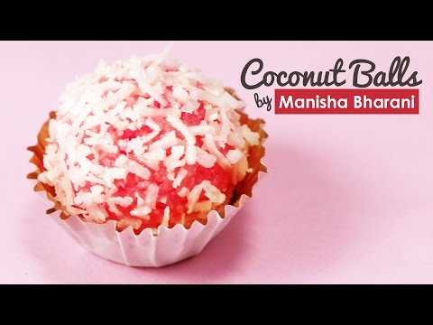 Coconut Balls - Instant Coconut Laddu - Easy & Quick Indian Sweet/Dessert Recipe