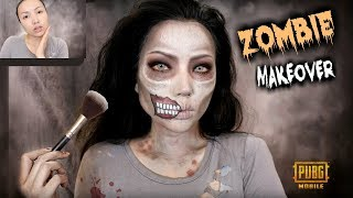 Turning into a ZOMBIE to Scare my Friends !!! (PUBG MOBILE)