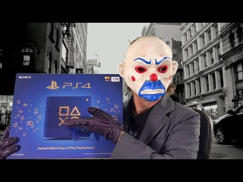 PS4 DAYS OF PLAY LIMITED EDITION CONSOLE Unboxing Playstation 4 Slim Blue Collector