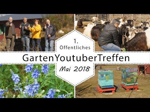 Offizielles Informationsvideo zum öffentlichen Gartenyoutubertreffen 2018