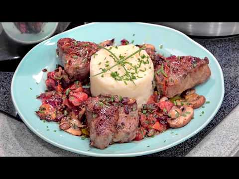 Australian Lamb Loin chops and Mashed potatoes by Crafty Cooking by Anna
