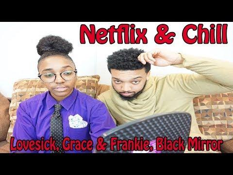 Netflix & Chill: Valentine's Day Picks (Lovesick, Grace And Frankie, & Black Mirror)