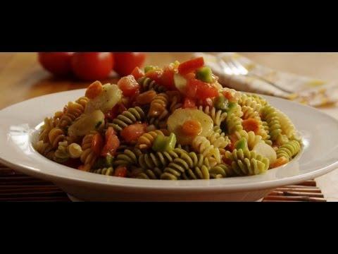 How to Make Veggie Pasta Salad   Pasta Recipe   AllRecipes