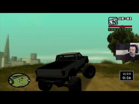 Grand Theft Auto: San Andreas HD playthrough pt99 - Monster Truck Mayhem