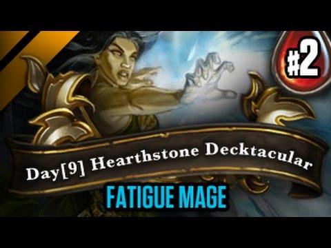 Day[9] HearthStone Decktacular #64 - Fatigue Mage P2