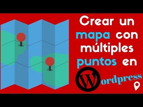 Crear un mapa con multiples puntos en Wordpress