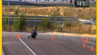 Licencia para conducir motos: Nuevo examen práctico
