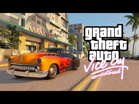 GTA VICE CITY REMASTERED AS GTA 5 2018 ULTRA REALISTIC GRAPHIC GAMEPLAY 4K