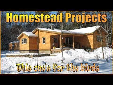 Homestead Projects.  How to build nesting Boxes. Easy To Follow Instructions.