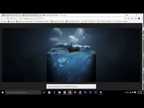 How to make a picture into a URL  How to make photo link    How To Create A URL For An Image 2017