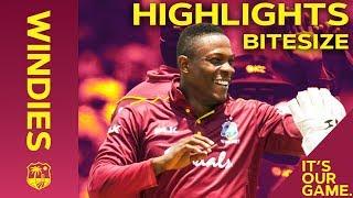 Windies vs India 1st IT20 2019   Bitesize Highlights