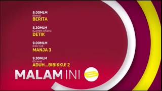 Mediacorp Suria - schedule (2018-present)