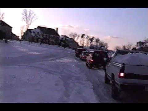 Blizzard of '96 in Clifton, Virginia: Day #4 (1-10-96)