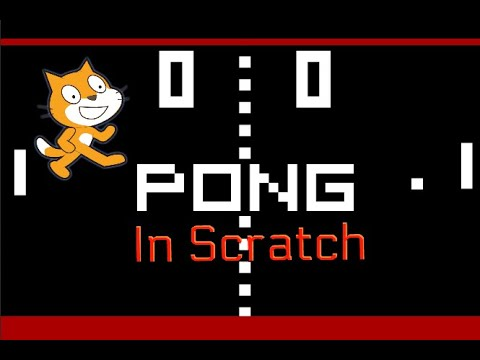 How to make a simple Ping Pong game in scratch.#1 Paddles and Ping Pong ball