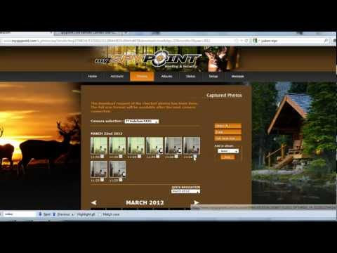 Using the mySpypoint Online Website for Spypoint Live Wildlife Camera