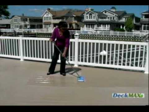 DeckMAX - Composite PVC Deck Cleaner & Stain Remover