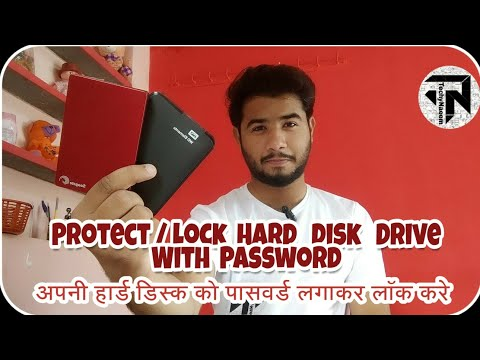 How To Protect External Hard Disk Drive With Password