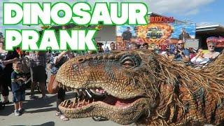 EPIC DINOSAUR PRANK - Video Blog 222
