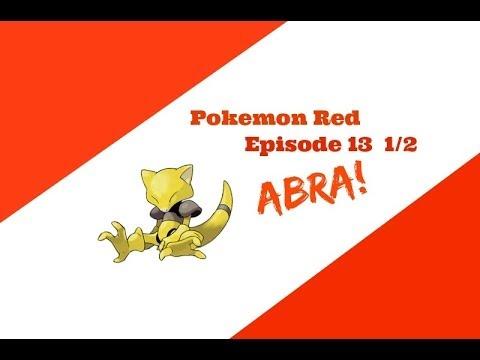 CATCHING ABRA!! - Pokemon Red ep. 13 1/2