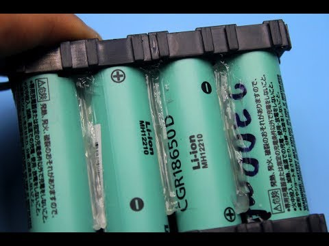 How to assemble lithium-ion battery