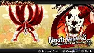 Naruto Shippuden Ultimate Ninja Impact (storm4mod) UCHIHA SASUKE