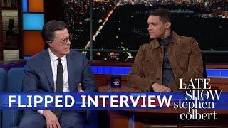 Trevor Noah Interviews Stephen Colbert