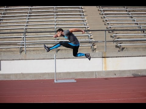 Trail Leg Drills for Faster Hurdling
