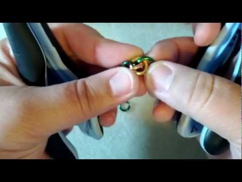 Jens Pind Linkage chainmaille tutorial