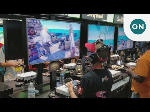 A walk through the Xbox booth at E3 2017