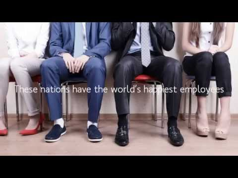 Top 10 Nations with the HAPPIEST EMPLOYEES (2016)