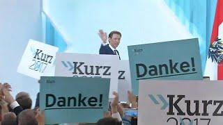 Austria election: Sebastian Kurz set to become the world