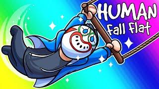 Download Human Fall Flat Funny Moments - The Incredible Climbing Circus! Video
