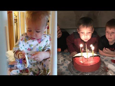 A Hospital Kid and a Birthday Boy
