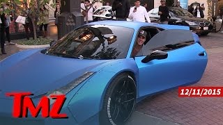 Justin Bieber Busted for Chirping Out His Ferrari | TMZ