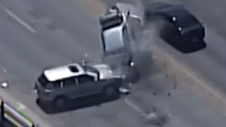 Police Chase Ends in Serious Crash
