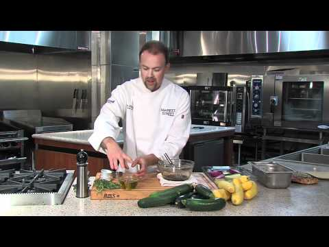 Chef Tips: Balsamic Grilled Summer Squash