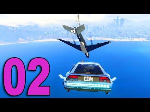 GTA Online Doomsday Heist - Part 2 - SHOOTING DOWN A JUMBO JET