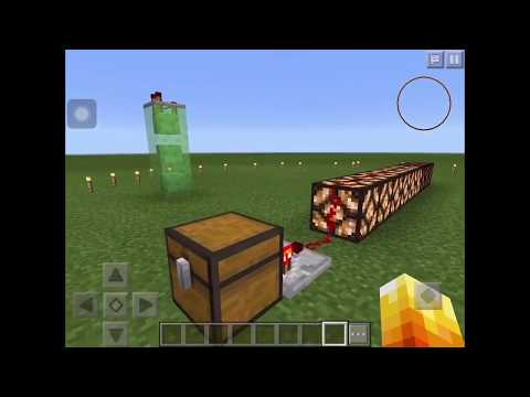 How to use the comparator + Things to do with it : Minecraft PE or Pc