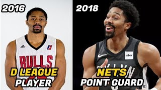 Meet Spencer Dinwiddie: From the D League to NBA Starting Point Guard